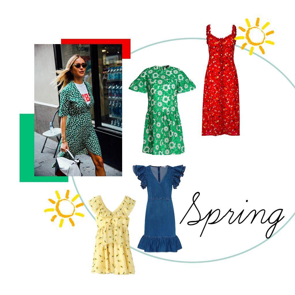 30 robes de printemps pour un look ensoleillé