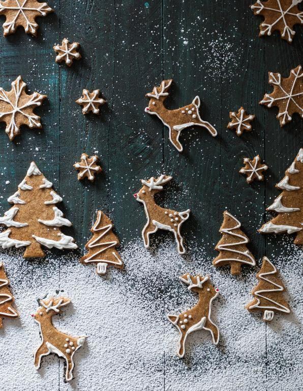 Des biscuits en pain d'épices à croquer en attendant Noël
