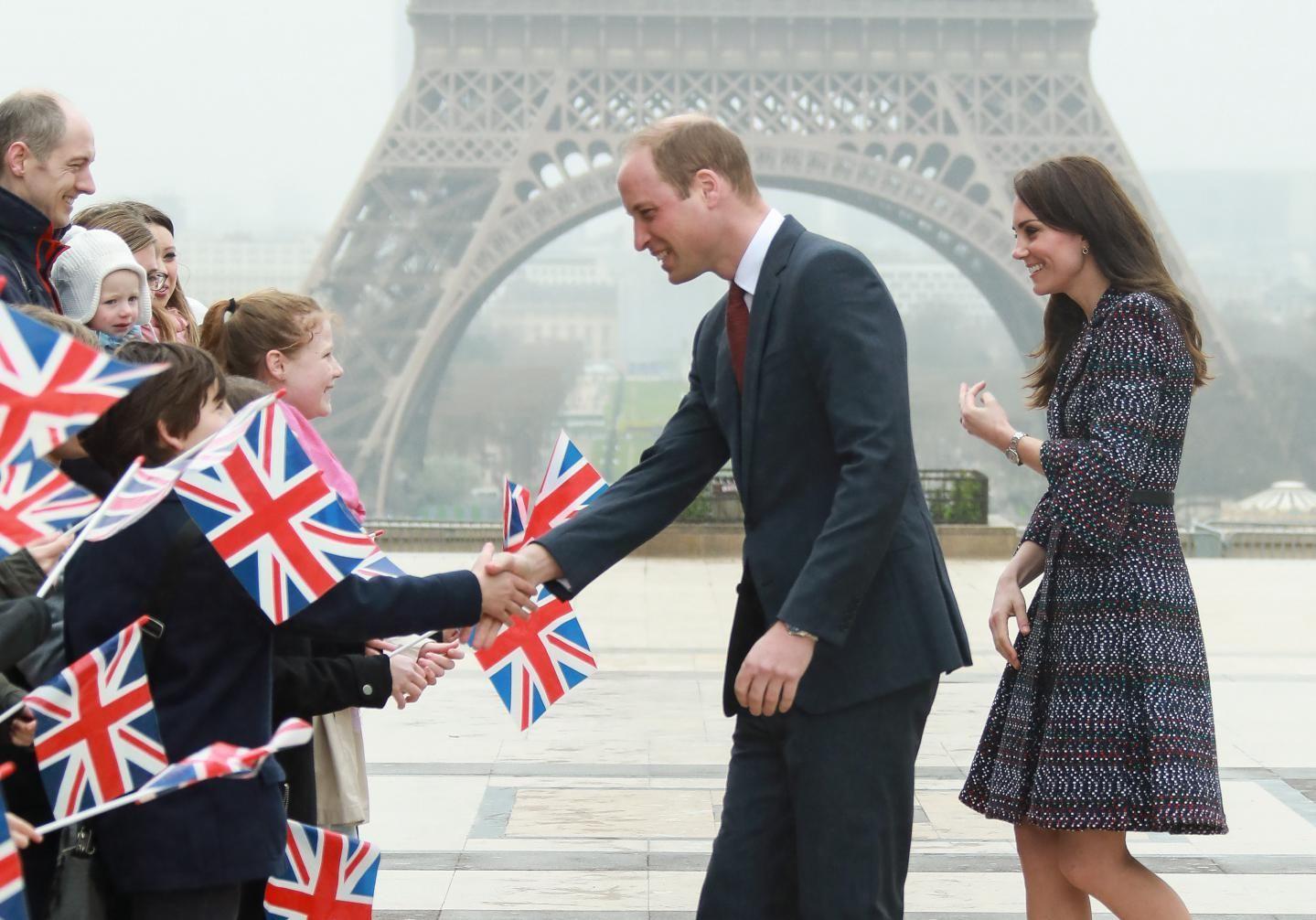 Kate et William à Paris : les photos de leur voyage, de l'Elysée à la Tour Eiffel