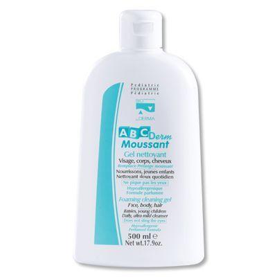ABCDerm moussant gel nettoyant