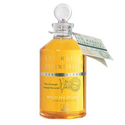 Huile de bain délassante à la fleur d'oranger