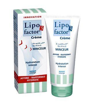 Lipofactor3, Crème Minceur Hydratation Intense