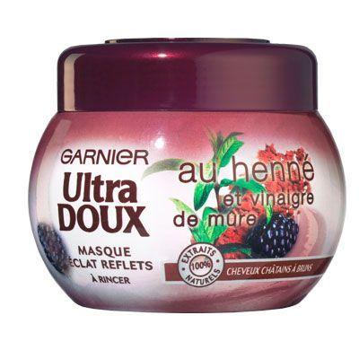 Masque au henné et vinaigre de mûre Ultradoux