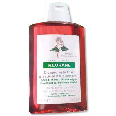 Shampooing fortifiant à la quinine et vitamine B