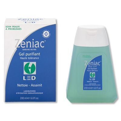 Zeniac gel purifiant haute tolérance