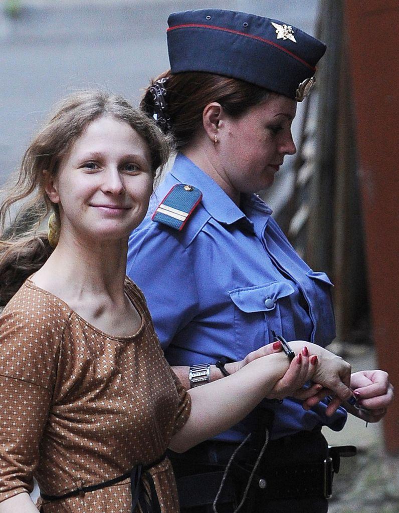 Les femmes de la semaine : Maria Alekhina des Pussy Riot reste en prison