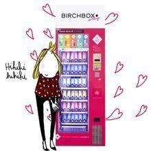 On aime : le distributeur à produits de beauté Birchbox