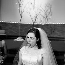 La mariée fait une grimace et devient la star du Web