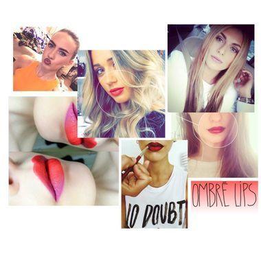 L'ombré lip : la tendance make-up qui affole Instagram