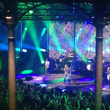 On y était : au concert de Maroon 5 à l'iTunes Festival