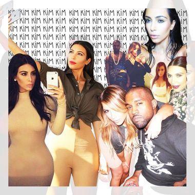 Les 20 selfies les plus importants de Kim Kardashian