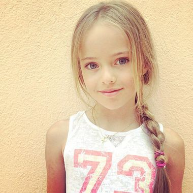 Kristina Pimenova, le jeune top de 9 ans qui crée la controverse