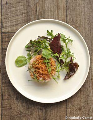 Tartare de veau & d'huîtres