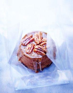Brownies aux noix de pécan et caramel
