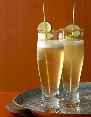 Cocktail à la bière et au citron vert