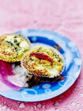 Egg muffins à la ricotta