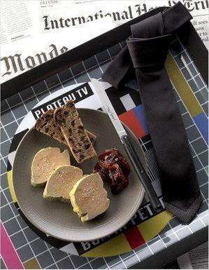 Foie gras mi-cuit, compote de prunes