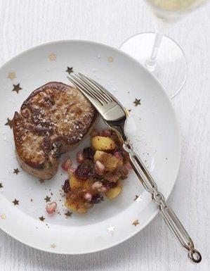 Foie gras poêlé et chutney