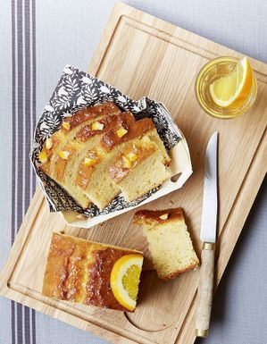 Gâteau à l'orange et muscat
