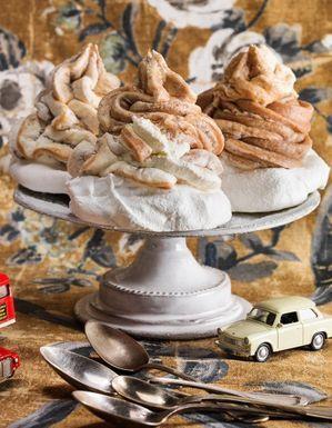 Gâteau Mont-blanc