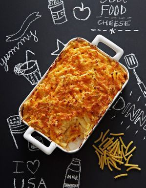 Mac and cheese au cheddar