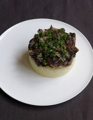 Parmentier de queue de boeuf