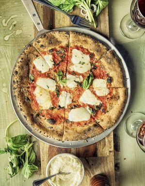 Pizza au chou-fleur