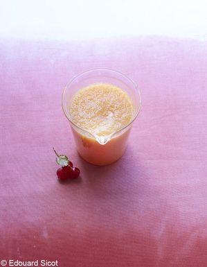 Soupe de melon au gingembre
