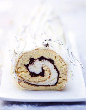 Bûche vanille-chocolat