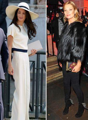 Bristish Fashion Awards : qui est la plus stylée entre Amal Clooney et Kate Moss ?