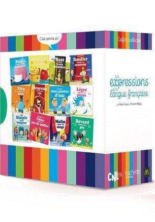 """La collection complète de livres """"Les expressions de la langue française"""" avec McDonald's"""