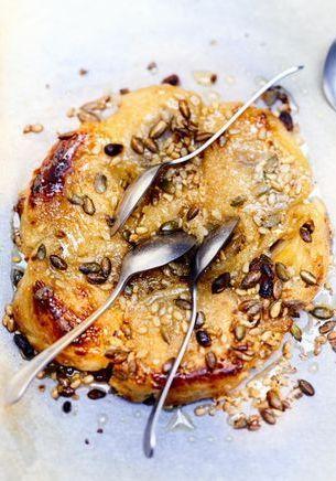 Gâteau feuilleté aux poires
