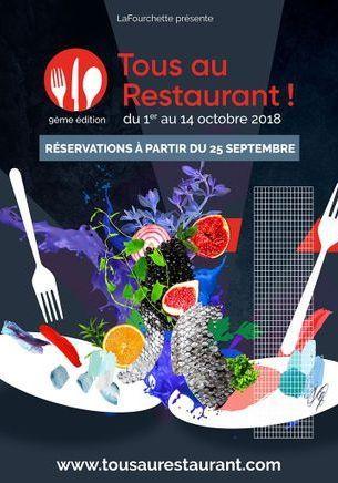 Tous au Restaurant : C'est l'heure de réserver votre table !