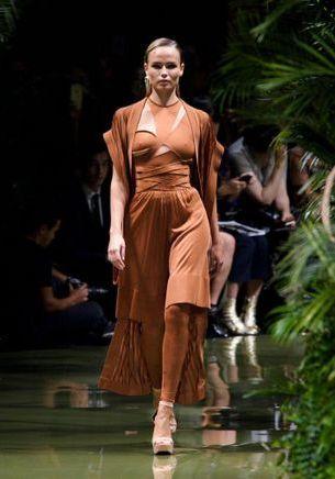 Fashion Week de Paris : les amazones glamour de Balmain