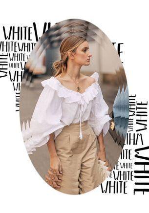 6 raisons d'aimer à nouveau la blouse blanche Blouse blanche