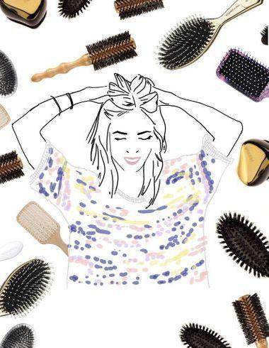 Les 10 meilleures brosses pour des cheveux brillants
