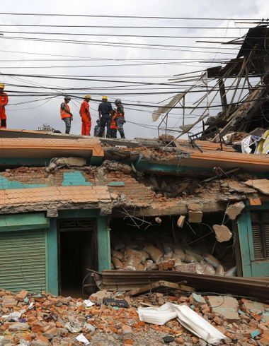 Séisme au Népal : comment Facebook aide à retrouver des survivants
