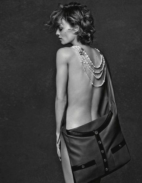 L'instant mode : la nudité de Vanessa Paradis pour Chanel