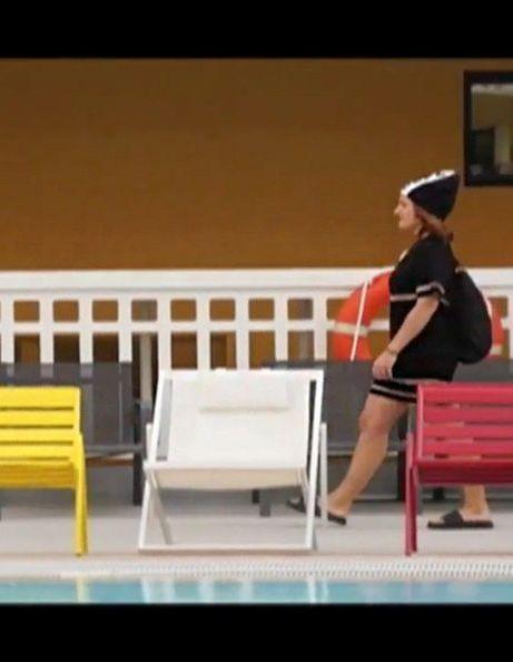La leçon de sport des filles de ELLE en Alexander Wang pour H&M