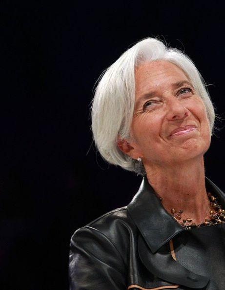 Christine Lagarde bluffante au Women's Forum
