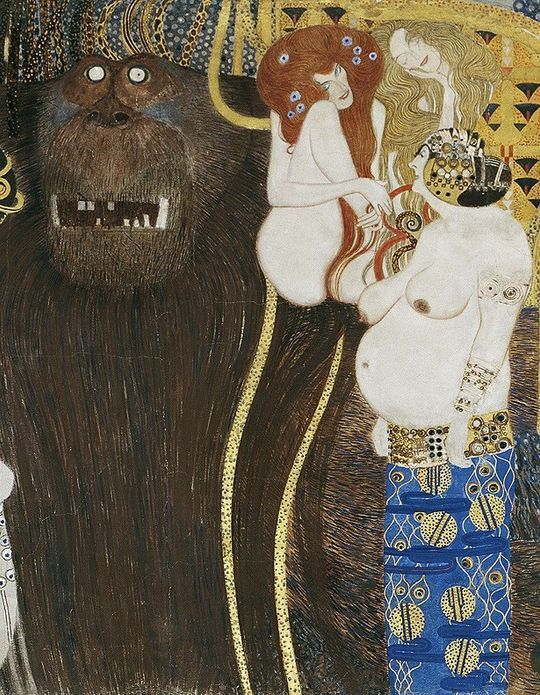 On court voir l'expo « Au temps de Klimt » à la Pinacothèque