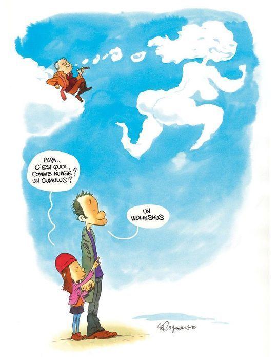 Papa, t'es là ? par Elsa Wolinski