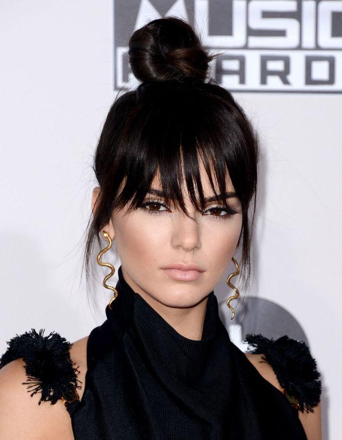 La fausse frange de Kendall Jenner