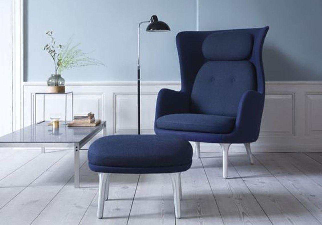 Un fauteuil aussi bleu que design