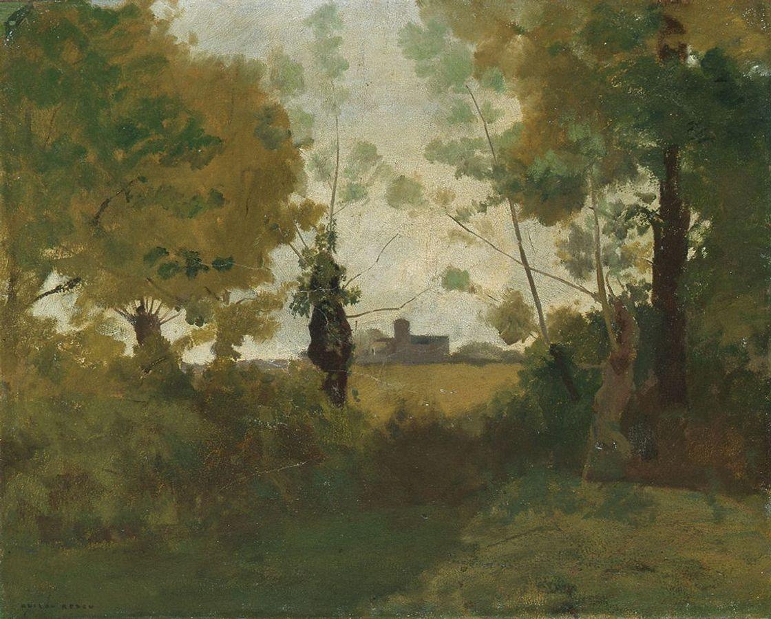 Paysage d'Odilon Redon (DR)