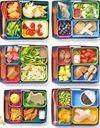 6 lunch box personnalisées