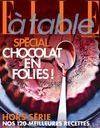 En kiosque : le hors-série Spécial Chocolat ELLE à table