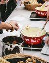 #ELLEyétait... au festival Toquicimes à Megève avec la crème des chefs