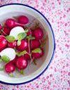 Que faire avec des radis roses ?