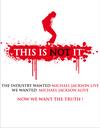 """Appel au boycott de """"This is it"""" : Michael Jackson doublé ?"""